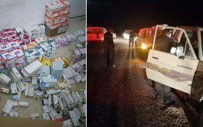 Contrebande : Saisie de 10.903 boîtes de médicaments à Ben Guerdane (Photos)