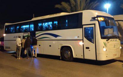 Djerba : Départ des premiers bus pour ramener les citoyens vers leurs villes d'origine (Photos)