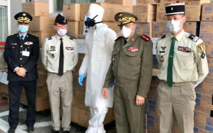 Tunisie : La France fait don d'équipements sanitaires aux ministères de l'Intérieur et de la Défense
