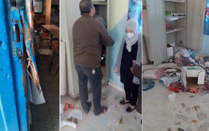 Cinq adolescents arrêtés pour le vandalisme de l'école primaire de Kalâat El-Andalous (Photos)