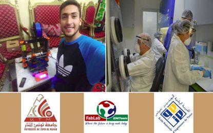Covid-19 : Les élèves ingénieurs de l'Enit au service des hôpitaux tunisiens