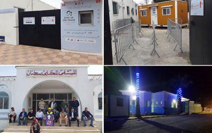 Les hôpitaux de Mateur, Zarzouna et Sejnane dotés de circuits Covid-19
