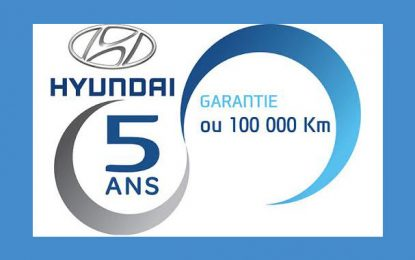 Alpha Hyundai Motor annonce une extension de la garantie constructeur