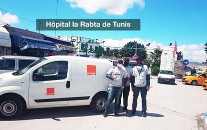 Covid-19 : Orange Tunisie se mobilise contre la pandémie