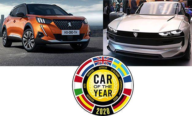 De la 504 à la nouvelle 208,  les six Peugeot élues «Car Of The Year»