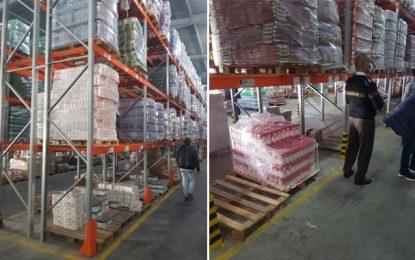 Spéculation : Saisie de plus de 18 tonnes de semoule et de farine à Sfax (Photos)