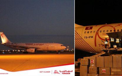 Coronavirus : Arrivée de deux avions Tunisair, chargés d'équipements médicaux (Photos)