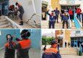 Coronavirus : Les volontaires de la protection civile ou les anges gardiens de Médenine (Photos)