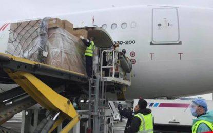 Tunisie : Deux nouveaux avions transportant des équipements médicaux arriveront de Chine