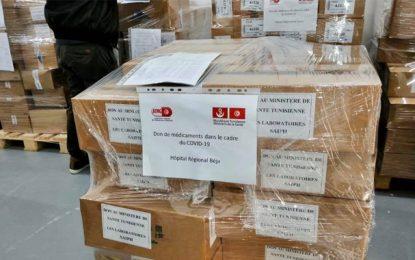 Coronavirus-Tunisie : Des laboratoires privés font don de médicaments pour les hôpitaux