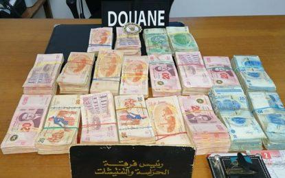 Contrebande : Saisie de 42.000 dinars dans un camion, à Nabeul