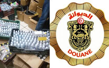 Grand-Tunis : Saisie de 2.000 flacons de gel désinfectant non conforme aux normes