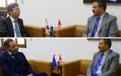 Coronavirus : La Corée du sud et l'Union européenne prêtes à soutenir matériellement la Tunisie