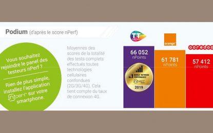 Baromètre nPerf : Tunisie Telecom offre les meilleures performances de l'internet mobile