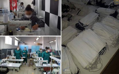 Coronavirus : Les détenus s'engagent dans la lutte contre le coronavirus (Photos)