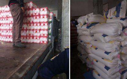 Spéculation : Saisie de 16 tonnes de produits alimentaires à Mahdia (Photos)