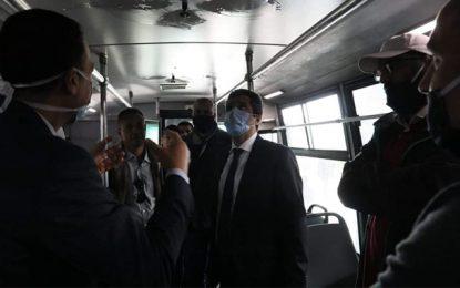 Coronavirus : Système de stérilisation rapide dans les bus de la Transtu