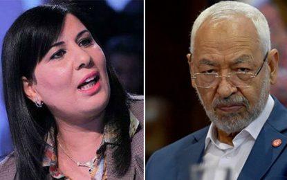 La «solidarité» de Ghannouchi avec Moussi : La blague qui sent le soufre