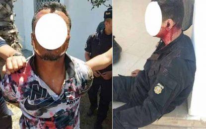 Ben Arous : Arrestation d'un individu qui a tenté d'égorger un policier (Photos)