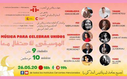 Instituto Cervantes Túnez : Un concert en ligne pour célébrer la fin de ramadan