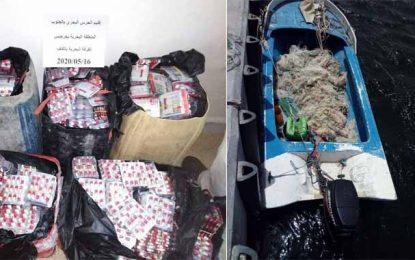 Près de 32.000 pilules de stupéfiants, en provenance de Libye, saisies dans un bateau à El-Ketf