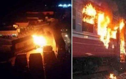 Incendie d'une locomotive de transport de phosphate à Gafsa : La piste criminelle privilégiée