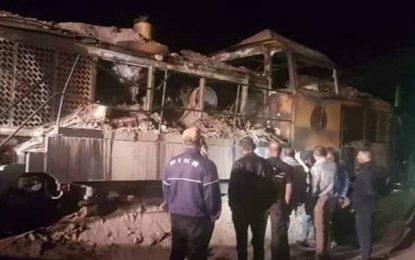 Incendie d'une locomotive de transport de phosphate à Gafsa : Un 2e suspect en garde à vue