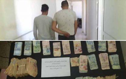 Vol de 100.000 dinars dans une société à Grombalia : Deux suspects en détention