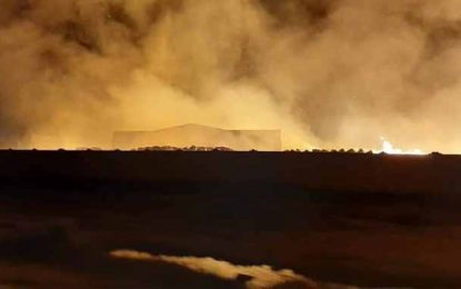 Incendie à Enfidha : Le ministère de l'Intérieur fait le point sur l'évolution de la situation