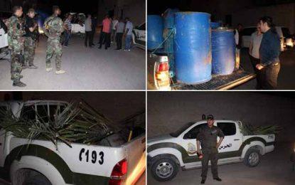 Tozeur : Saisie de 3000 litres de «legmi alcoolisé» (Photos)