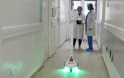 Enova, Orange et Dräxlmaier déploient le robot Zourni à l'hôpital Abderrahmen Mami