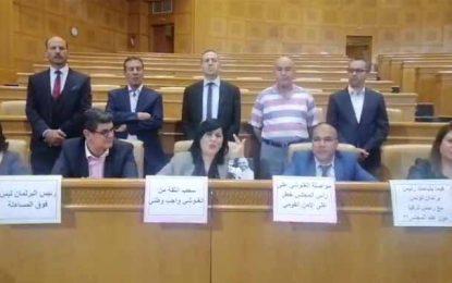 Les députés du PDL observent un sit-in ouvert à l'Assemblée (Vidéo)