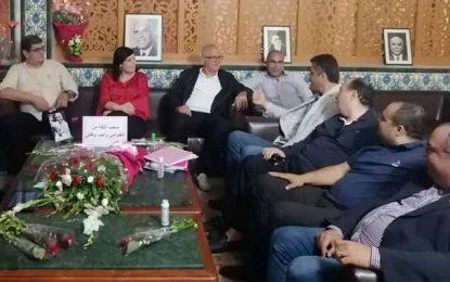 Tunisie : Des députés rendent visite à leurs collègues du PDL, en sit-in à l'Assemblée (Photos)