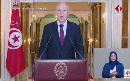 Saïed: «La Tunisie est un seul État, représenté par un seul président, à l'intérieur et à l'extérieur»