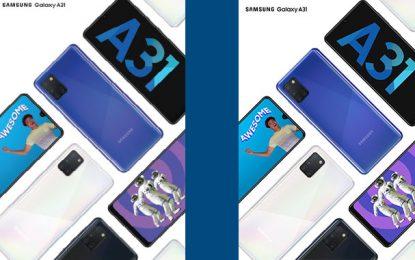 Le Galaxy A31 de Samsung disponible sur le marché tunisien