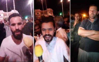 Tataouine : Manifestation nocturne du mouvement El-Kamour (Vidéo)