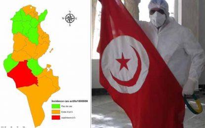 Tunisie : Les gouvernorats qui ne comptent plus aucun cas de coronavirus