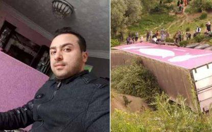Renversement d'un camion à Babouche : Décès du conducteur, le douanier secouru et transporté à l'hôpital militaire