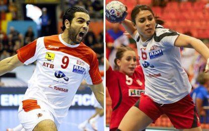 Handball : Amine Bannour et Asma Elghaoui nominés pour les équipes-types de la Ligue des champions d'Europe