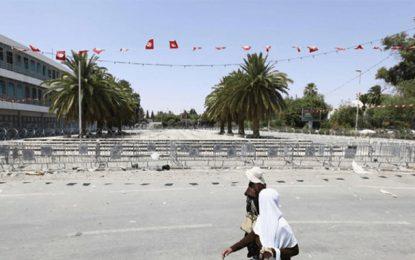 Sit-in Errahil 2 : Ghannouchi se barricade et fait installer des barrières devant le siège de l'Assemblée