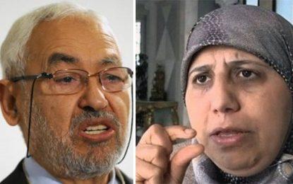 Yamina Zoghlami : Rached Ghannouchi ne possède qu'une voiture FCR et une petite maison à Ben Arous