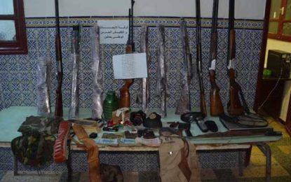 Tunisie : Démantèlement d'un réseau de trafic d'armes (Photos)