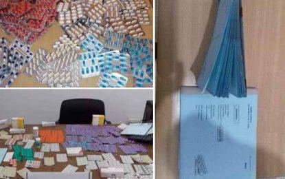 Trafic de certificats médicaux et de psychotropes à Mnihla : Deux suspects en détention