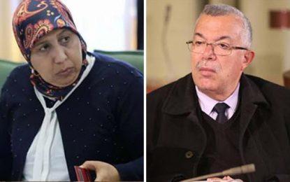 Cacophonie à Ennahdha : Yamina Zoghlami dément Noureddine Bhiri