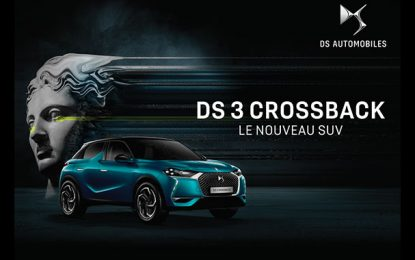Le nouveau SUV DS 3 Crossback arrive au DS Store des Berges du Lac