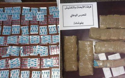 Fouchana : Quatre Algériens et une Tunisienne arrêtés pour trafic de drogue