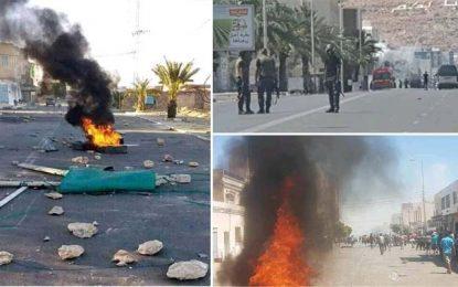 Mouvement El-Kamour : Heurts entre policiers et manifestants à Tatatouine (Vidéo)