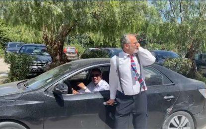 La vidéo des députés Karoui et Makhlouf au parking de l'Assemblée irrite le syndicat de la sécurité présidentielle