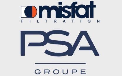 Misfat récompensé aux «Trophées Fournisseurs 2020» du Groupe PSA