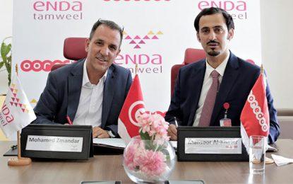 Ooredoo Tunisie et Enda Tamweel signent une convention de partenariat
